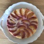 עוגת כל פרי (הפעם עם שזיפים)
