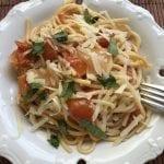 פסטה עגבניות מהיר מהיר