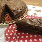 עוגת שוקולד וקרם עשיר