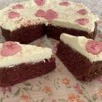עוגת רד וולווט (קטיפה אדומה)
